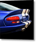 1995 Dodge Viper Coupe 'tail' Metal Print