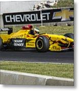 1997 Jordan 197 F1 At Road America Metal Print