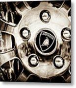 1997 Lamborghini Diablo Roadster  Wheel Emblem -1303s Metal Print