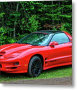 1998 Pontiac Firebird Trans Am Metal Print