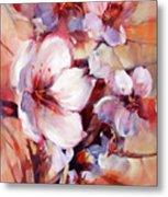 1almonds Blossom  13 Metal Print