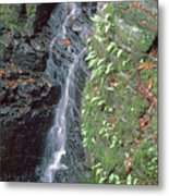 1b6353 Falls On Sonoma Mountain Metal Print