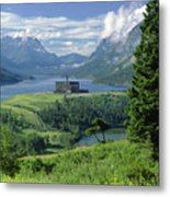 1m3001 Prince Of Wales From Afar Metal Print