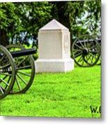 1st Mass Battery Gettysburg National Cemetery Metal Print