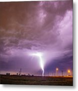 1st Severe Night Tboomers Of 2018 016 Metal Print