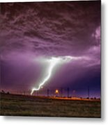 1st Severe Night Tboomers Of 2018 018 Metal Print