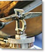 1927 Bentley 6.5 Litre Sports Tourer Hood Ornament Metal Print
