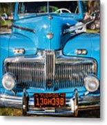 1942 Ford Super Deluxe Sedan Painted  Metal Print
