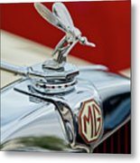 1948 Mg Tc - The Midge Hood Ornament Metal Print