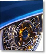 1957 Ford Thunderbird Wheel Metal Print