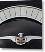 1958 Chrysler Imperial Emblem Metal Print
