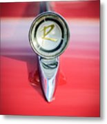 1961 Rambler Hood Ornament Metal Print
