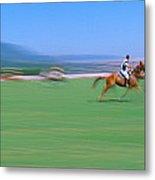 1998 World Polo Championship, Santa Metal Print