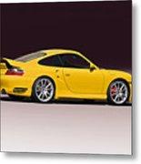 2001 Porsche 911 Turbo Metal Print