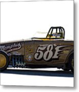581 Bonneville Race Car Metal Print