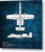 A-10 Thunderbolt II  Metal Print