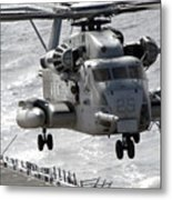 A Ch-53e Super Stallion Helicopter Metal Print