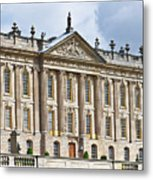 A View Of Chatsworth House, Great Britain Metal Print