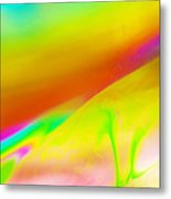 Abstract Colours. Metal Print