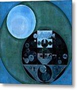 Abstract Painting - Lapis Lazuli Metal Print
