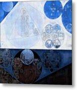 Abstract Painting - Lochmara Metal Print