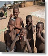 Africa's Children Metal Print