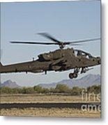 Ah-64d Apache Longbow Lifts Metal Print