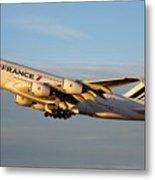 Air France A 380 Metal Print