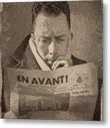 Albert Camus 1 Metal Print
