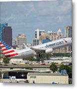 American Airlines Metal Print