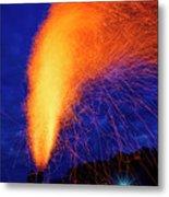 Amish Fireworks Metal Print