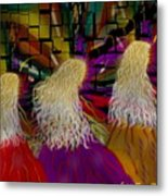 Angels To And Fro Metal Print