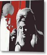 Angie Dickinson On Stage Number 2 Young Billy Young Set Old Tucson Arizona 1968-2013 Metal Print