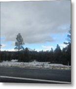 Arizona Mountain Landscape Metal Print