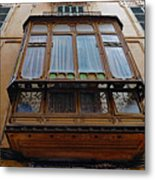 Artistic Architecture In Palma Majorca Spain Metal Print