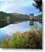Autumn Derwent Reservoir Derbyshire Peak District Metal Print