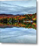 Autumn In The White Mountains Of New Hampshire Metal Print