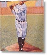 Babe Ruth (1895-1948) Metal Print