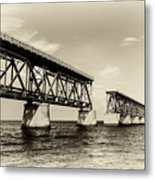 Bahia Honda Bridge Metal Print
