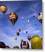 Balloon Fiesta Metal Print
