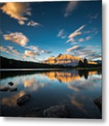 Banff Metal Print