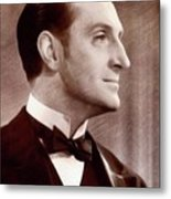Basil Rathbone, Actor Metal Print