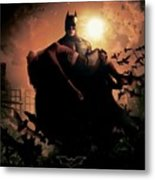Batman Begins 2005 Metal Print