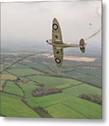 Battle Of Britain Spitfire  Metal Print