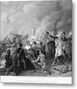 Battle Of New Orleans Metal Print by Granger