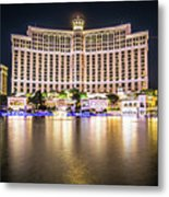Bellagio Hotel On Nov, 2017 In Las Vegas, Nevada,usa. Bellagio I Metal Print