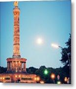 Berlin - Victory Column Metal Print