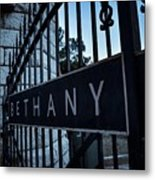 Bethany Cemetery Metal Print