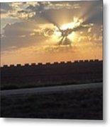 Big Sky Texas Style Metal Print