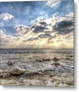 Birling Gap Angel Light Metal Print